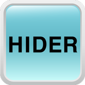 Hide call SMS history Hider icon
