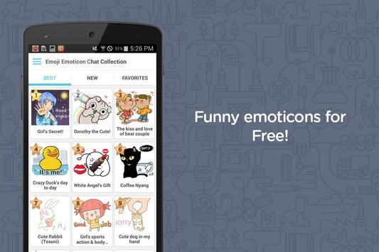Emoji Emoticon Chat Collection poster