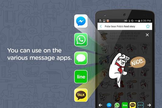 Emoji Emoticon Chat Collection apk screenshot