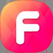 페이스팅 - 무료영상통화, 화상랜덤채팅, 친구만들기 icon