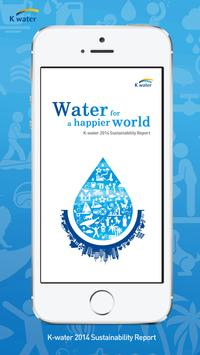 K-water Sustainability Report poster