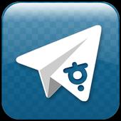 텔레그램 한글판 Telegram unofficial icon