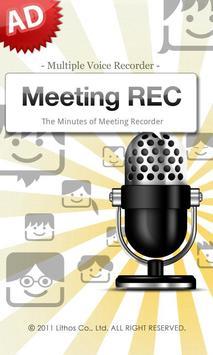 Meeting REC AD poster