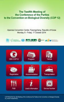 CBD COP12 poster