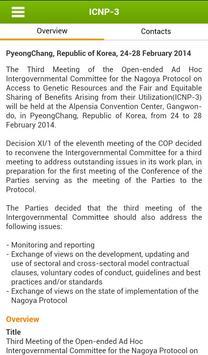 CBD COP12 apk screenshot