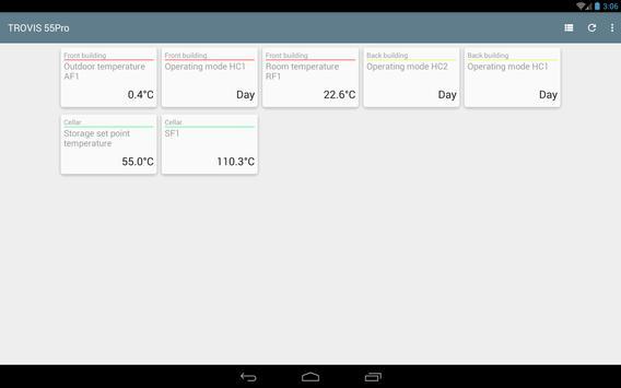 TROVIS 55Pro apk screenshot