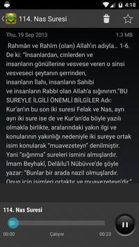 Kuranı Kerim Türkçe Meal Sesli apk screenshot