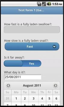 H2Know How Forms apk screenshot