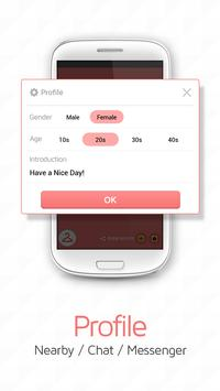 Chat Messenger -  Nearby Chat poster