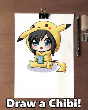 How to draw Chibi poster