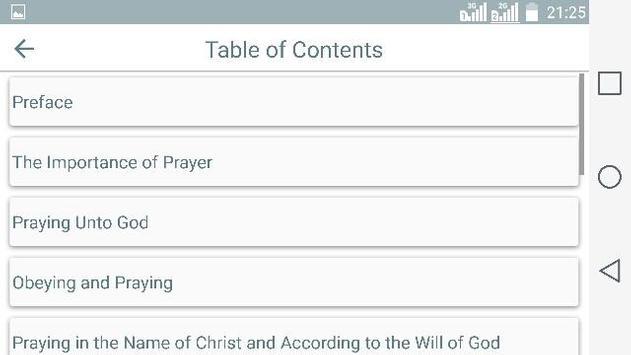 Christian. How to Pray apk screenshot