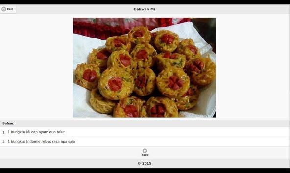 Aneka Resep Masakan Indomie apk screenshot