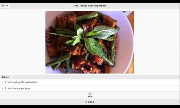 Aneka Resep Masakan Tempe 4 apk screenshot