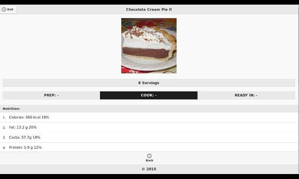 Chocolate Recipes 14 apk screenshot