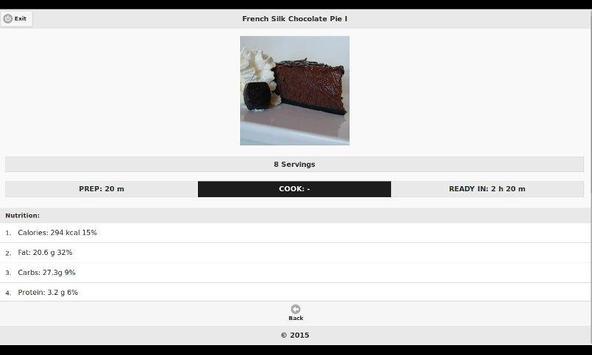 Chocolate Recipes 17 apk screenshot