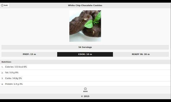 Chocolate Recipes 11 apk screenshot
