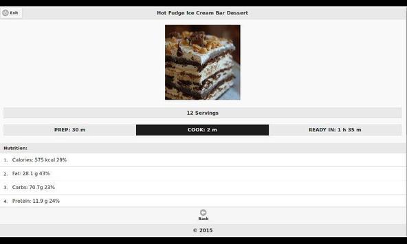 Chocolate Recipes 12 apk screenshot