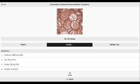 Chocolate Recipes 20 apk screenshot