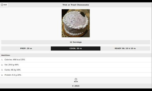 Chocolate Recipes 4 apk screenshot
