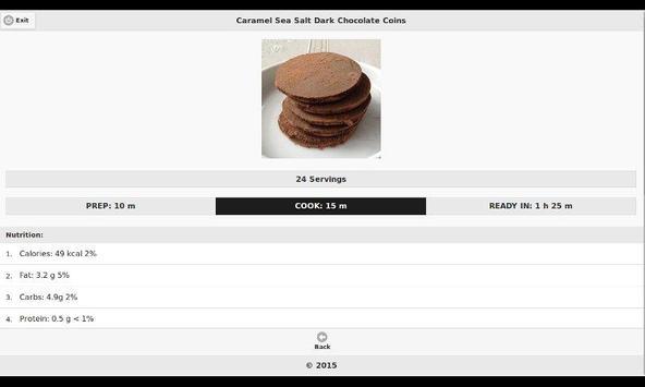 Chocolate Recipes 6 apk screenshot