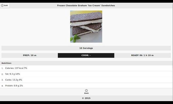 Chocolate Recipes 9 apk screenshot