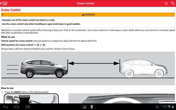 Honda iManual apk screenshot