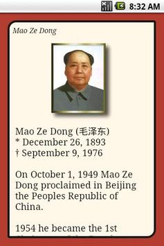 Mao Zedong Quotes poster