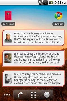 Mao Zedong Quotes apk screenshot