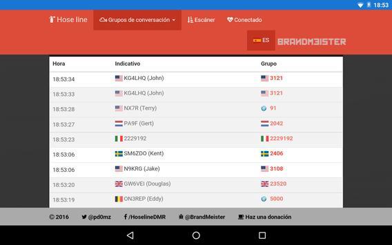 Brandmeister Live 2.0 apk screenshot