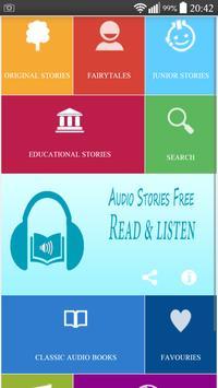Audio Stories Free poster