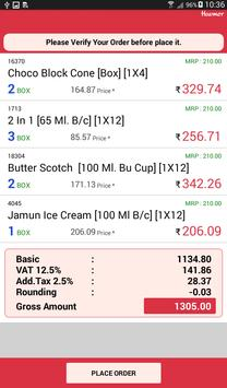 Havmor Sales Order apk screenshot