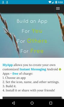 Poly Chats - Create IM apps poster