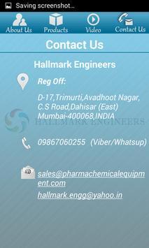 Hallmark Engineering apk screenshot