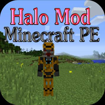 Halo Mod for Minecraft PE poster
