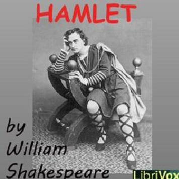 Hamlet audio and text poster