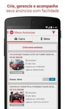 Webmotors - Anunciar Carros apk screenshot