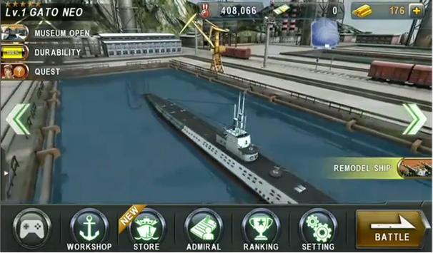 Guide Warship Battle 3D World apk screenshot