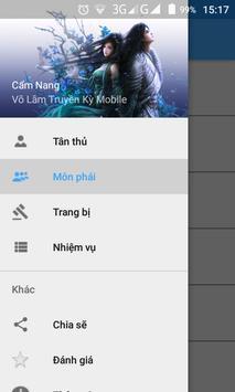 Võ Lâm Truyền Kỳ Mobile -Guide apk screenshot