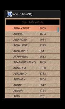 ISD Code Finder apk screenshot