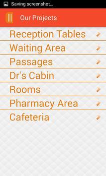 Hospital Furniture Measurement apk screenshot