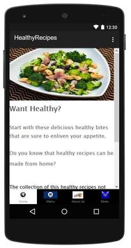 Healthy Recipes Made Easy poster