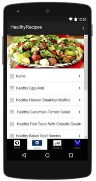 Healthy Recipes Made Easy apk screenshot