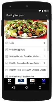 Healthy Recipes Made Easy apk screenshot