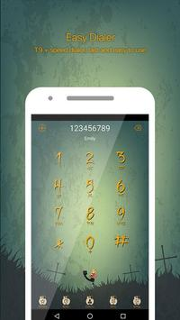 Halloween Call Dialer Theme poster