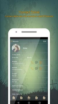 Halloween Call Dialer Theme apk screenshot