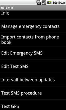 HelpMe apk screenshot
