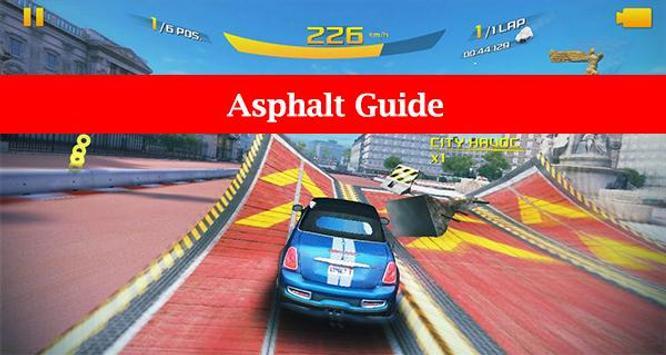 Guide for Asphalt 8: Airborne poster