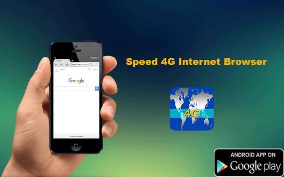 Speed 4G Internet Browser poster