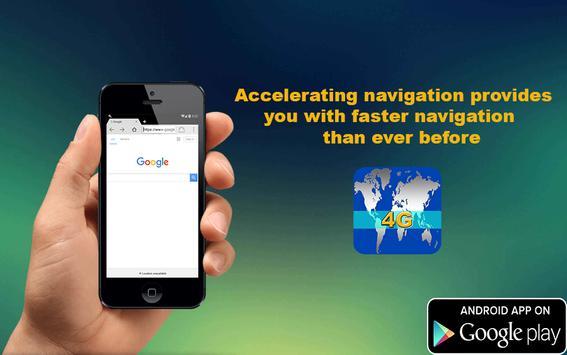 Speed 4G Internet Browser apk screenshot