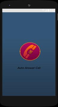 Auto Answers Call poster